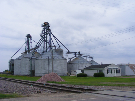 Rabbe Grain Company elevators, Trimont Minnesota, 2014