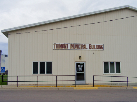 Trimont Municipal Building, Trimont Minnesota, 2014