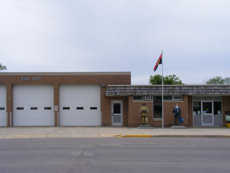 City Hall and Fire Department, Truman Minnesota, 2014