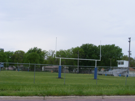 Truman High School football field, Truman Minnesota, 2014