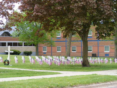 Truman School, Memorial Day, Truman Minnesota, 2014