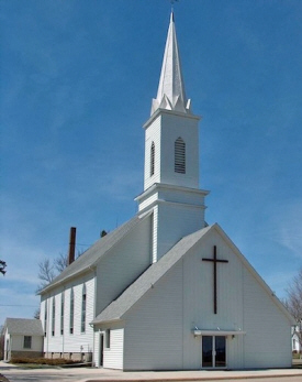 St. John's Lutheran Church, Vernon Center Minnesota