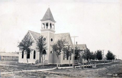 Church, Wabasso Minnesota, 1910
