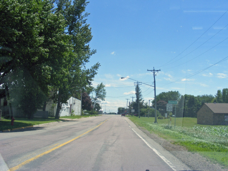 Entering Waldorf Minnesota on County Road 3, 2014