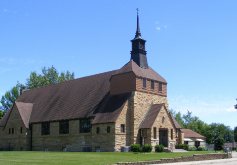 St. Joseph Catholic Church, Waldorf Minnesota, 2014