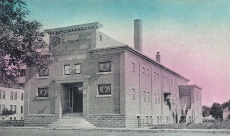 M. W. A. Opera House, Warren Minnesota, 1912