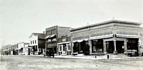 East Side of Main Street, Welcome Minnesota, 1910's