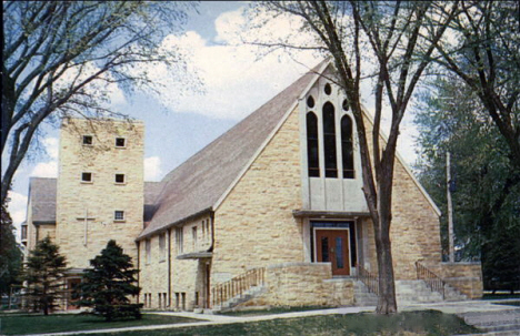 First Lutheran Church, Wells Minnesota, 1960's
