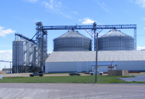 WFS elevators, Wells Minnesota, 2014
