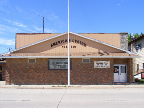 American Legion Post 210, Wells Minnesota, 2014