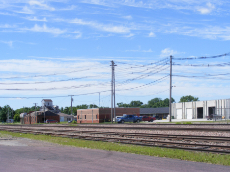 Railroad tracks, Wells Minnesota, 2014