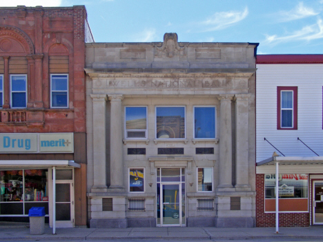 Former First National Bank, Wells Minnesota, 2014