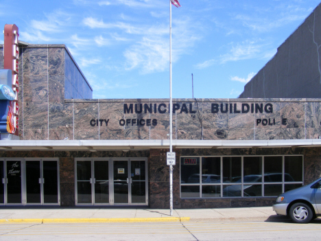 Municipal Building, Wells Minnesota, 2014