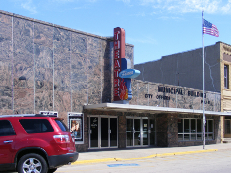 Flame Theatre and Municipal Building, Wells Minnesota, 2014