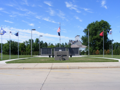 Area Veterans Memorial Park, Wells Minnesota, 2014