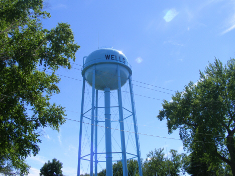 Water Tower, Wells Minnesota, 2014