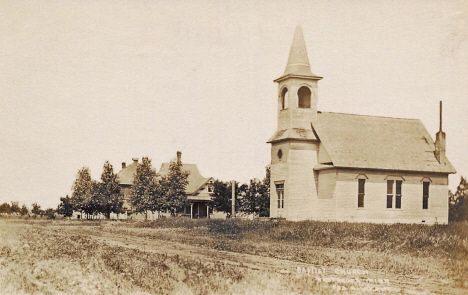 Baptist Church, Westbrook Minnesota, 1910's