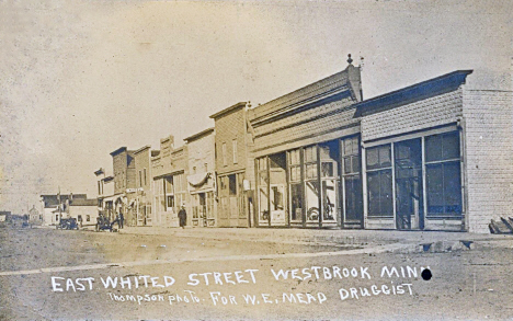 East Whited Street, Westbrook Minnesota, 1907