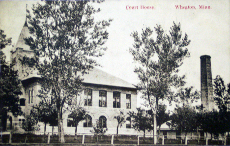 Courthouse, Wheaton Minnesota, 1913