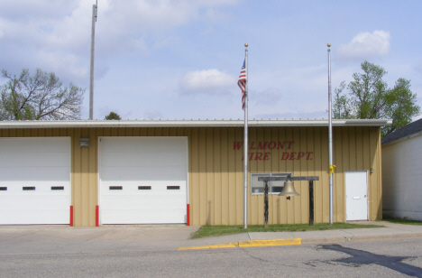 Fire Department, Wilmont Minnesota, 2014