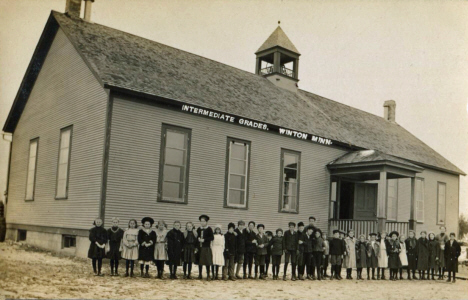 Grade School, Winton Minnesota, 1910's
