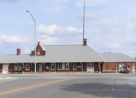 Railroad Depot, Worthington Minnesota, 2014