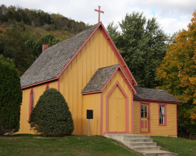Episcopalian Church of the Holy Comforter, Brownsville Minnesota