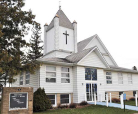 CHARLIE WARNER/NEWS LEADER The Root River Church of the Brethren, which served the rural Preston/Harmony area for more than 160 years, will hold its last service on Saturday, April 22.