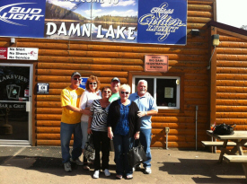 Lakeview Bar and Grill on Dam Lake, Aitkin Minnesota