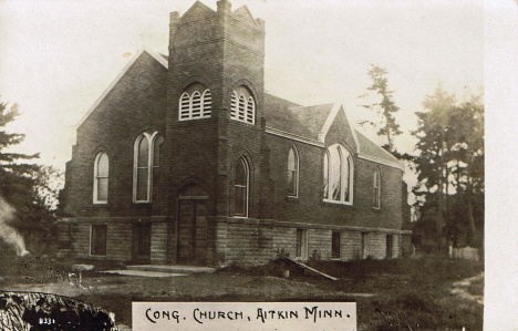 Congregational Church, Aitkin Minnesota, 1914