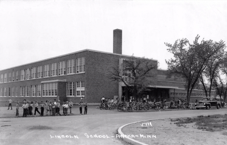 Lincoln School, Anoka Minnesota, 1950's