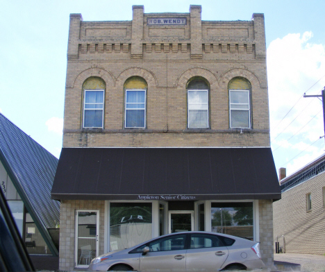 Wendt building, Appleton Minnesota, 2014