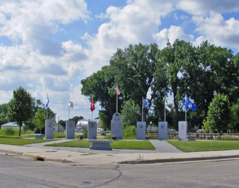 War Memorial, Appleton Minnesota, 2014