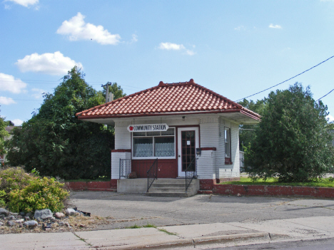 Former gas station, Appleton Minnesota, 2014