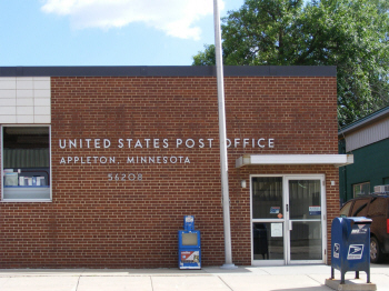 US Post Office, Appleton Minnesota