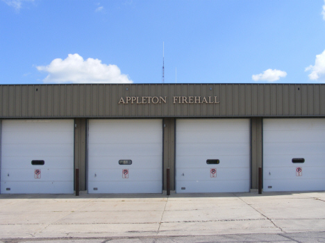 Fire Department, Appleton Minnesota, 2014