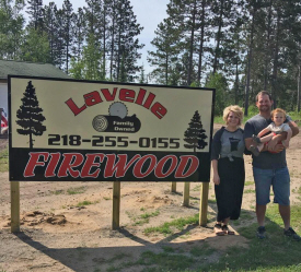 Lavelle Firewood and Lawn Care, Backus Minnesota