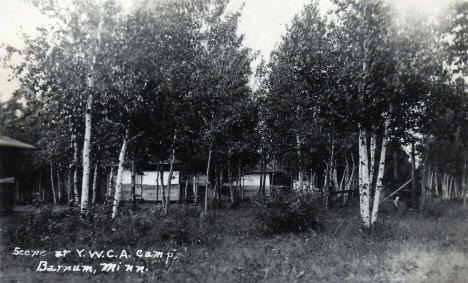 Scene at YMCA Camp near Barnum Minnesota, 1924