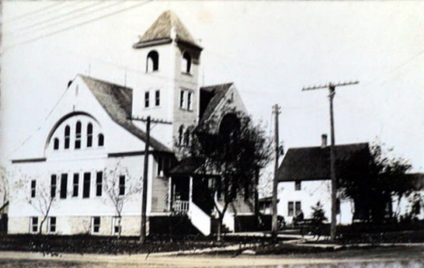 Methodist Church, Beardsley Minnesota, 1920's