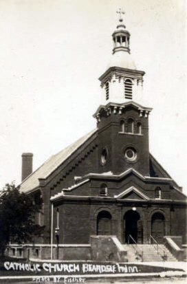 Catholic Church, Beardsley Minnesota, 1910's