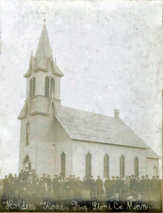 Holden Lutheran Church, Beardsley  Minnesota, 1905