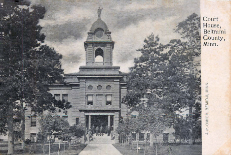 Beltrami County Court House, Bemidji Minnesota, 1906