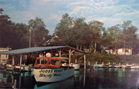 Judd's Resort, Bena Minnesota, 1973