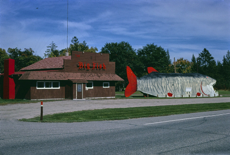 Big Fish Supper Club, Bena Minnesota, 1980