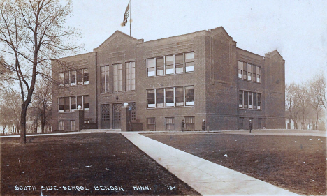 Southside School, Benson Minnesota, 1911