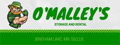 O'Malley's Storage and Rental, Bingham Lake Minnesota