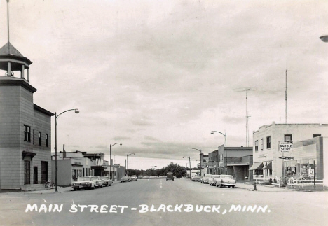 Main Street, Blackduck Minnesota, 1965