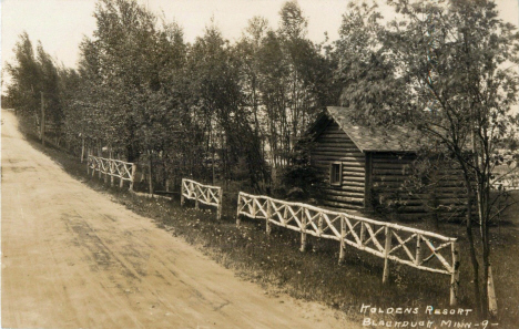 Koldens Resort, Blackduck Minnesota, 1930's