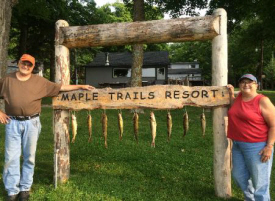 Maple Trails Resort, Boy River Minnesota