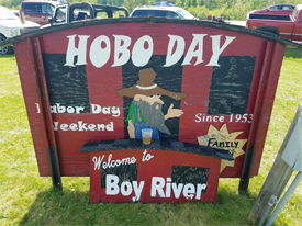 Hobo Day, Boy River Minnesota